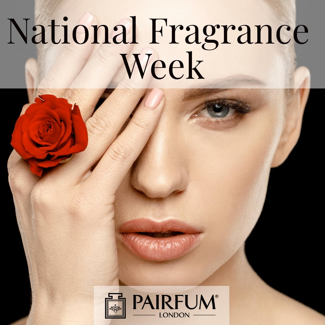 National Fragrance Week Woman Rose Flower