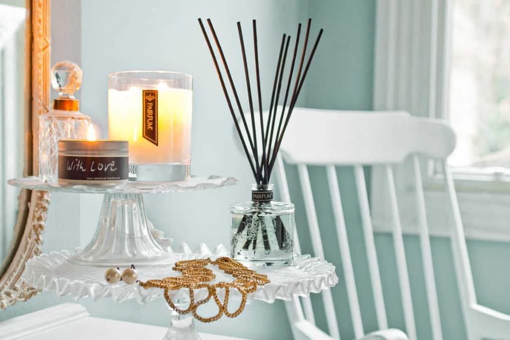 Pairfum lifestyle living room reed diffuser tower medium