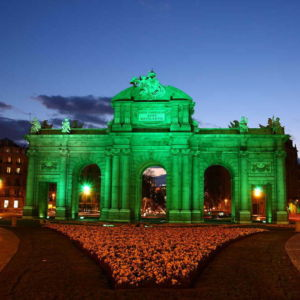 Ireland St Patrick Day 2020 Famous Buildings Green 9