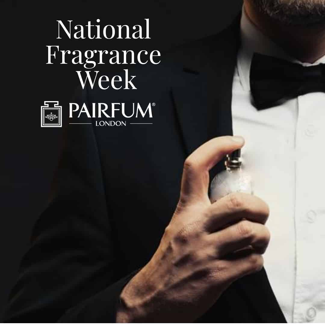 National Fragrance Week Man in Suit