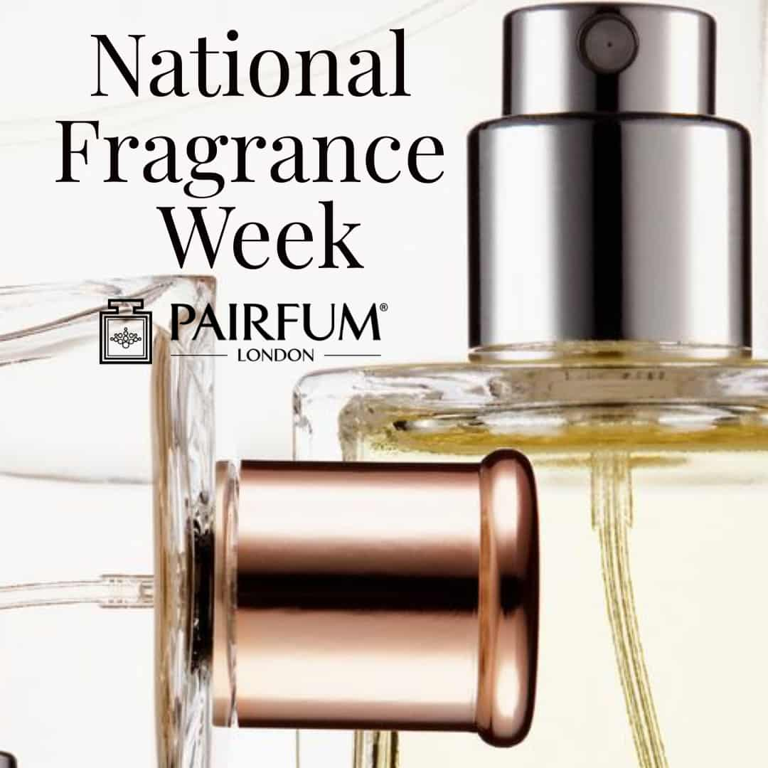 National Fragrance Week Perfume Bottles
